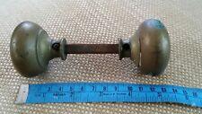 Vintage Reclaimed  Brass Door Knobs Handles.