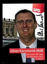 Oliver Kaczmarek Autogrammkarte Original Signiert ## BC 128451