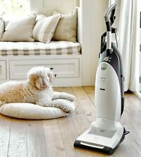 Miele Dynamic U1 Cat and Dog Upright Vacuum, Lotus White + 4 vacuum bags FREE!!!