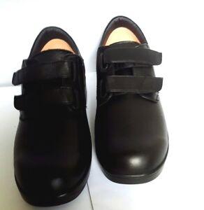 NEW APEX AMBULATOR V1260M MEN's Orthopedic Diabetic Leather Shoes SZ:10M $150.00
