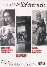 COFFRET DVD NEUF PROCES DE JEANNE D'ARC - JULES ET JIM - LA FILLE A LA VALISE