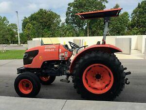 Kubota Diesel Tractor M5640su 2011 Low Hours!!