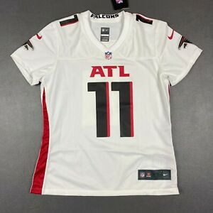 100% Authentic Julio Jones Nike Falcons On Field Game Jersey Size M Women