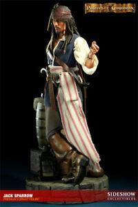Sideshow Collectibles Jack Sparrow Premium Format 1/4 Exclusive wie Neu