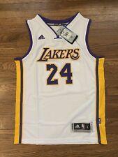Kobe Bryant #24 La lakers Youth Kids Jersey - Size Large - White & Gold *New*