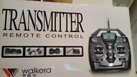 WALKERA 40 MHZ 4CH FM TRANSMITTER & RECEIVER (MODE 1 ONLY)