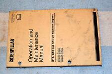 Caterpillar C11 C13 C15 On-Highway Engines Operation Maintenance Manual SEBU7695