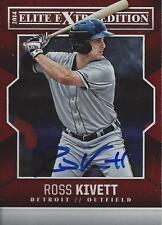 Ross Kivett Detroit Tigers 2014 Panini Elite Signed Card