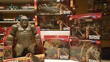 KONG Skull Island 18 Inch figure & 5 KING KONG Movie playsets  Walmart Exclusive