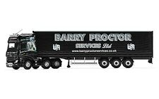 CORGI TRUCK MERCEDES-BENZ ACTROS MP4 CURTAINSIDE BARRY PROCTOR SERVICES CC15810