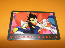 44 VEGETA CARD DRAGON BALL Z SERIE 2 1989 BIRD STUDIO SHUEISHA TOEI