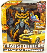 Transformers HFTD Battle Ops BumbleBee Leader Class Movie Camaro Warrior MIB TLK