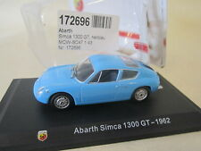 750 record monza 1958 collection ABARTH Italie 1//43 METRO hachette