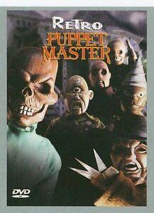 Retro Puppet Master (DVD, 2000) Brand New, Sealed