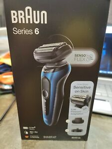 Braun Series 6 Senso FLEX Electric Razor Kit Wet & Dry 6040cs New in Box