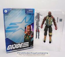 GI Joe Classified Roadblock Figure COMPLETE w/ Box
