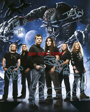 Iron Maiden signed 8x10 photo Autographed Reprint