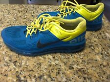 Nike Air Max 555363-307 Tropical Teal men's size 12 running shoes sonic yellow