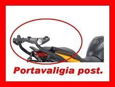 PORTAPACCHI + PIASTRA  HONDA CROSSRUNNER 800 2011 1104FZ + M5 PORTABORSA HONDA
