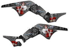 HONDA TRX250R GRAPHICS DECAL KIT AMERICAN HERO TRX 250 R STICKER PINUP GREY