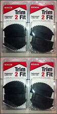 Trim 2 Fit Replacement Ladder Safety Feet Trim to Fit - 4 x Pairs (8 Feet)