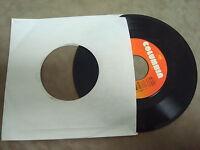 RICKY VAN SHELTON- LOVE IS BURNIN'/ LIFE'S LITTLE UPS AND DOWNS  45 RPM LP