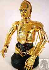 Star Wars C3PO Gold Bust Statue Gentle Giant Dark Horse Comics New from 2004