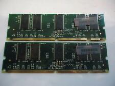 LOT OF 2 Compaq HP 127007-031 2x 128MB 256MB PC133R ECC Server RAM Memory