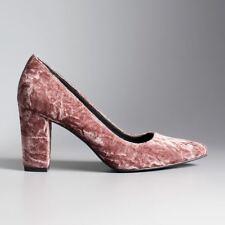 Women's Simply Vera Vera Wang Prague Blush Pink High Heels Shoes Size 6