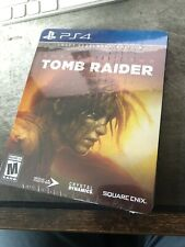*New* Shadow of the Tomb Raider Croft Steelbook Edition Ps4