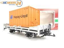 """E122 LGB Spur G 42030 Güterwagen Containerwagen """"Hapag Lloyd"""""""