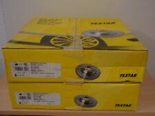 Conjunto de discos de freno Textar delantera a3 + Leon + superb + eos + Golf + Passat 92120600