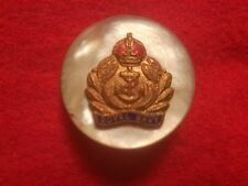WWI MOTHER OF PEARL BRITISH ROYAL NAVY SWEETHEART CAP BADGE/MEDAL/BROOCH