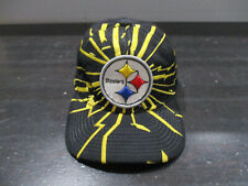VINTAGE Starter Pittsburgh Steelers Hat Cap Black Yellow Shockwave Football 90s