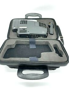 Compaq MP 2800 Projector DLP In Case With Cables Tested