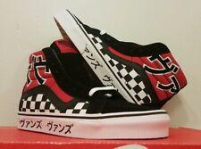 VANS Sk8-Hi Reissue Japanese Type Checkerboard Skateboard Shoes Mens Size 5