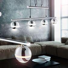 LED LUXE CHROME bille LUMINAIRE PLAFOND SALON LAMPE EEK A+ élégant blanc chaud