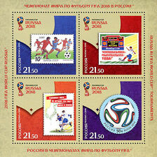 Russia, 2016, Football World Cup 2018, World cup history, sheetlet