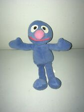 """Sesame Street 1997 Tyco 8"""" Beanbag Plush Toy -- Grover"""