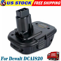 Replace for DEWALT DCA1820 20V MAX Li-Ion Battery Adapter 18V Cordless Tools NEW