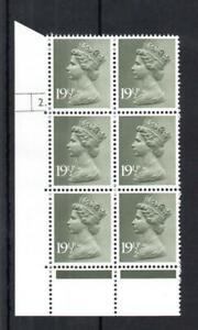 191/2p PCP1 MACHIN APS PERF UNMOUNTED MINT CYLINDER 2. BLOCK MCC £38
