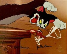 Tom and Jerry Hanna Barbera Signed Cel Puss Gets The Boot Rare Animation Cell