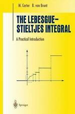 NEW The Lebesgue-stieltjes Integral : A Practical Introduction by M. Carter