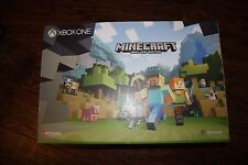 Brand New Xbox One S 500 GB Minecraft Console Bundle White Console NIB Sealed!!