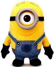 Despicable Me 2 One Eye Minion Stuart Plush! Doll 3D Goggle! Official Licensed!
