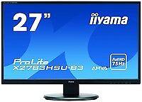 Iiyama 5657662000 ProLite X2783HSU-B3 27Zoll Full HD A-MVA Matt Schwarz Fla ~D~