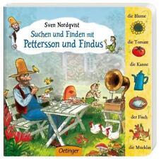 Suchen und finden mit Pettersson und Findus von Sven Nordqvist (2014, Gebundene Ausgabe)