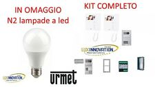URMET KIT 2 VOICE 1783/322 VIDEOCITOFONO 2 FAMIGLIE BIFAMILIARE A COLORI VIDEO