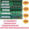 LOT Samsung 16GB 8GB 4GB 2GB 1GB 2RX8 DDR4/DDR3/DDR2 Desktop Memory RAM 288PIN
