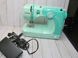 Janome Sew Pretty Sew Perfect Sewing Machine Hello Kitty Green Model 11706